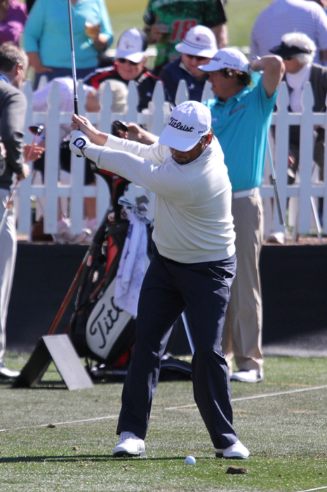 Titleist Brand Ambassador Tim Clark loads up his...