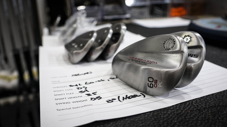 Vokey Tour Wedge Rep Aaron Dill is a busy man this...