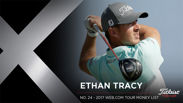 Titleist Brand Ambassador Ethan Tracy won this...