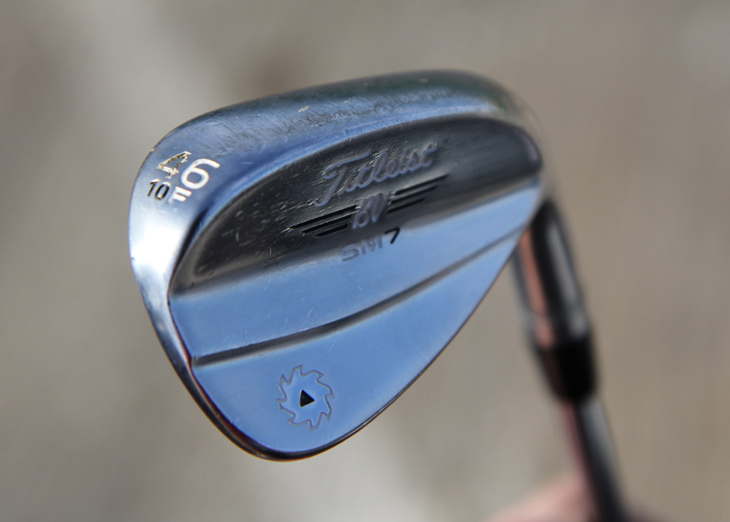 Bud's wedge setup includes three F grinds and...