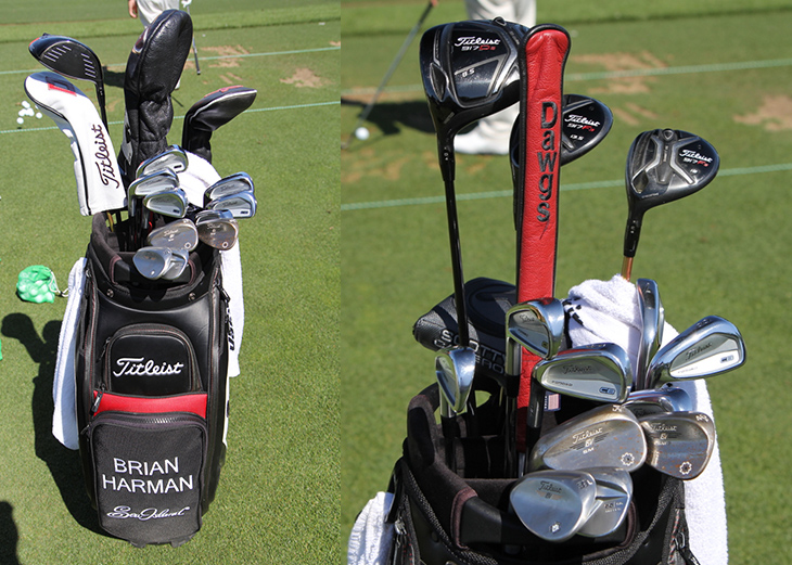 Scroll to take a look inside Brian's Titleist...