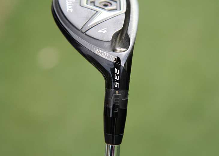 Webb sets this club to the SureFit C3 setting,...