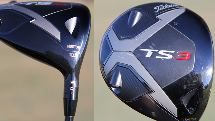 A closer look at Charles' new TS3 driver. JJ...