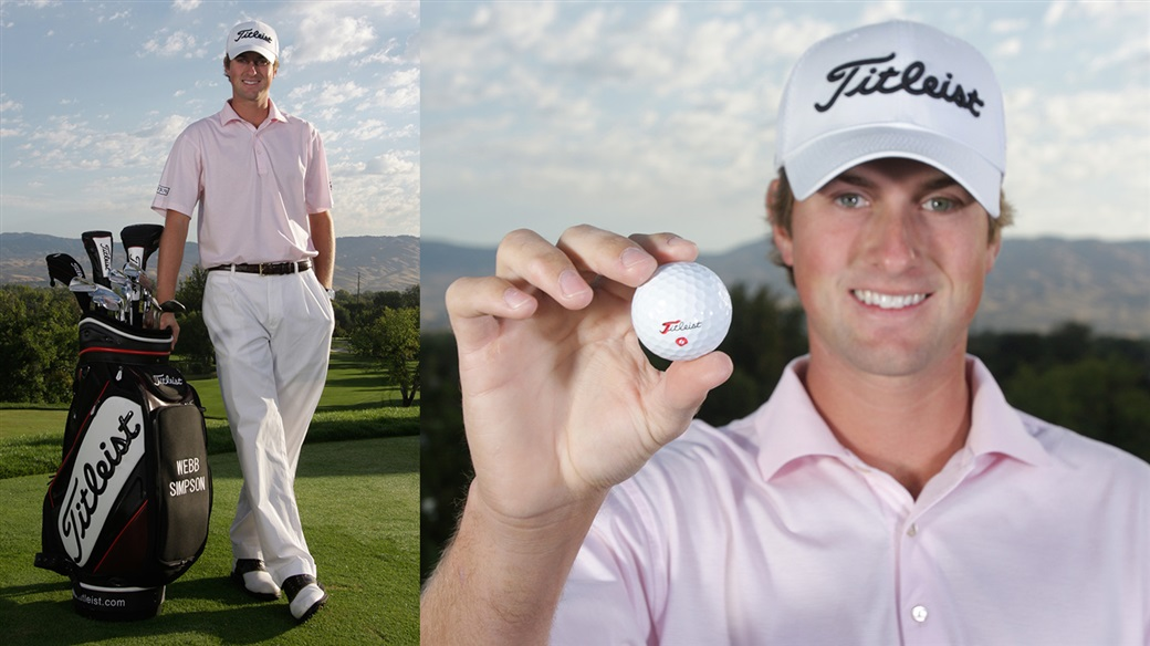 Webb Simpson has played a Titleist golf ball and Titleist clubs, tee-to-green, since turning pro in 2008.