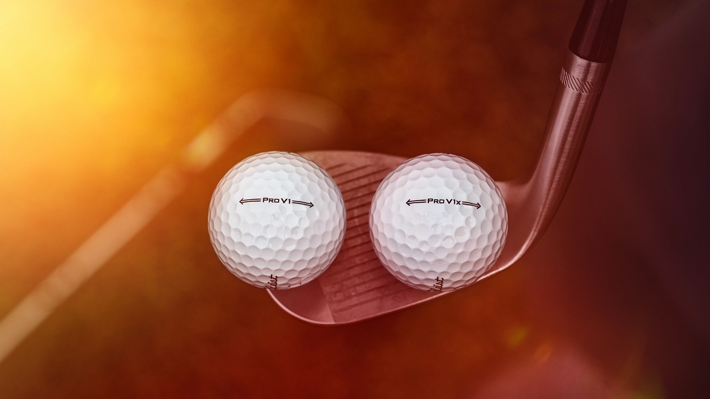 The softer urethane cover on both the new Pro V1 and Pro V1x golf balls delivers more spin for even greater greenside control