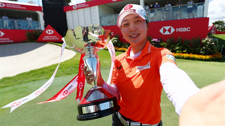 Hyo Joo Kim Rallies From Five Shots Back to Win the HSBC Women's World Championship