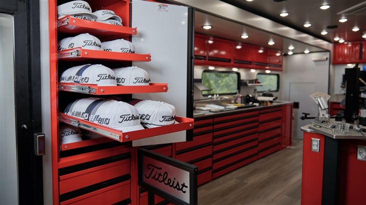 Tour the All-New Titleist Tour Truck