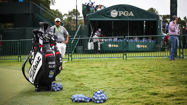 Day 2: Team Titleist at the 2017 PGA Championship